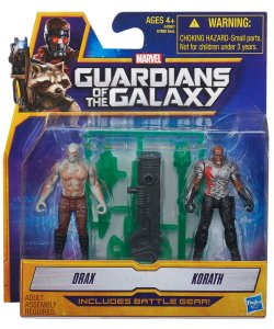 Guardians of the Galaxy Drax vs. Korath Epic Battles SET Actionfigur 6cm