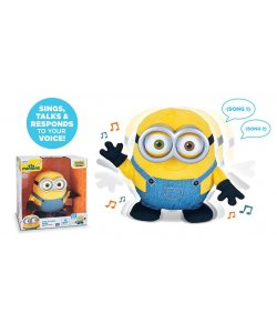 Minions Minion BOB sing and Dance Plüsch Figur INTERACTIVE Sound Bewegung