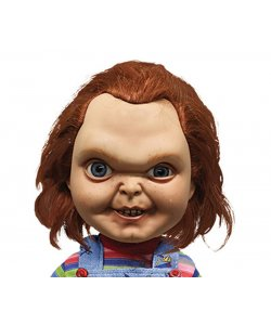 Chucky die Mörderpuppe 38 cm Mega Scale Puppe Sound Sneering Mezco Toys