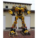 Transformers Bumblebee Action Figur LIfe SIZE Metall...