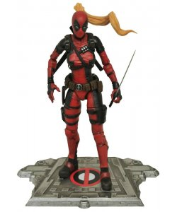 DC Comics Marvel Select PVC Statue sexy Lady Deadpool Actionfigur 16cm