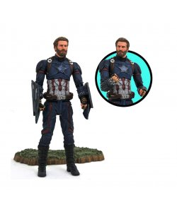 Avengers Infinity War Marvel Select PVC Statue Captain America 18 cm Actionfigur