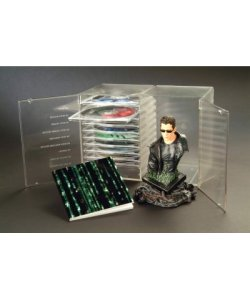 The Ultimate Matrix Collection 10er DVD SET Limited Edition + NEO Büste 16cm