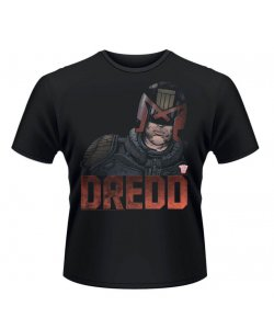 Judge Dredd T-Shirt Dredd Head schwarz in L